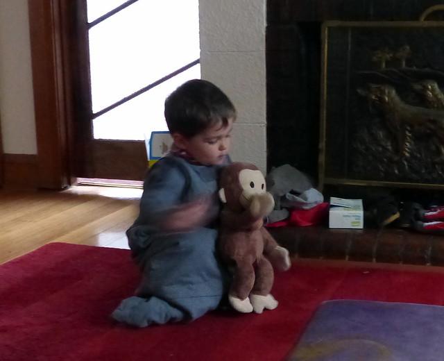 Helping Monkey be Iggle Piggle
