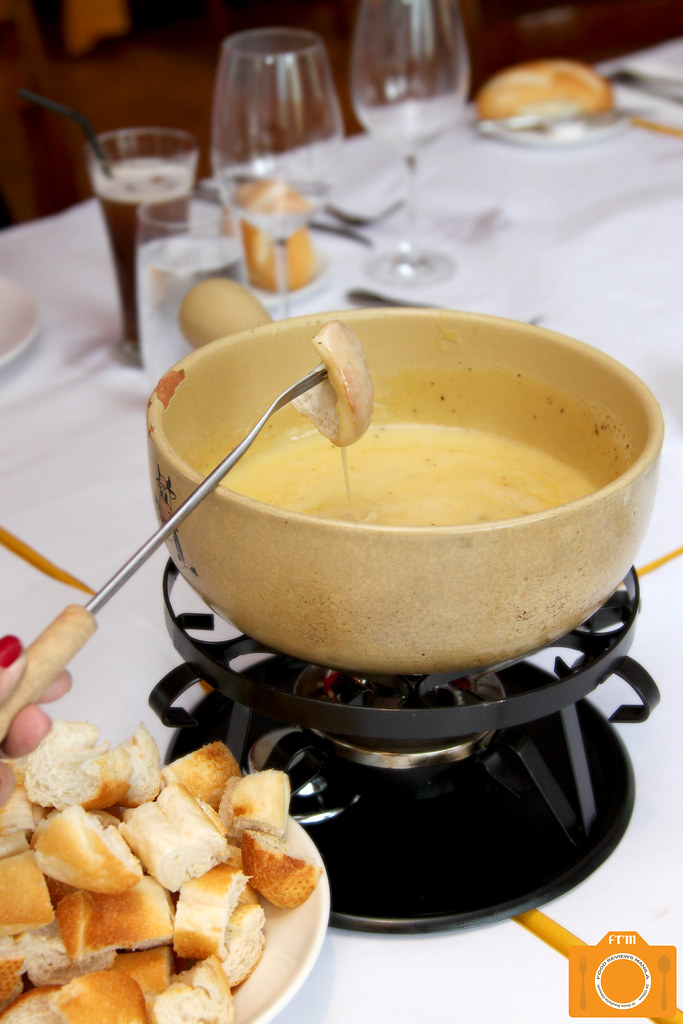L'entrecote The Real Original Swiss Cheese Fondue