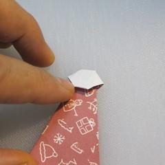 วิธีพับกระดาษรูปหมวกซานต้า 025