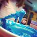 Neon Blue Cookies