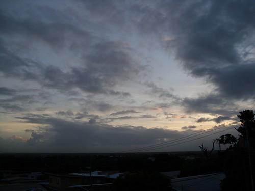sunset sky cloud landscape caribbean trinidadtobago mervyndegoeas