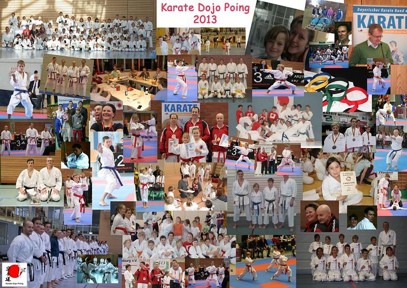 Das Jahr 2013 im Karate Dojo Poing