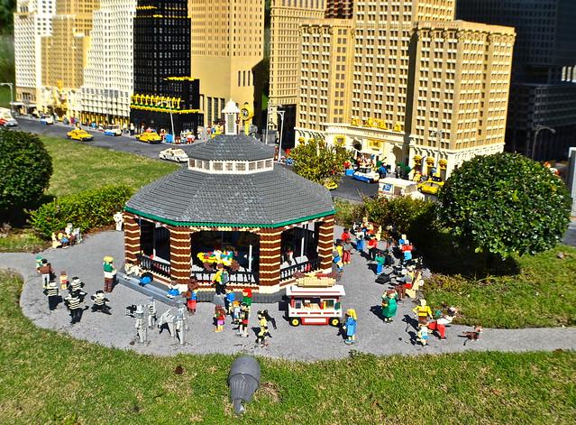 Legoland, Florida - Miniland - Central Park Carousel