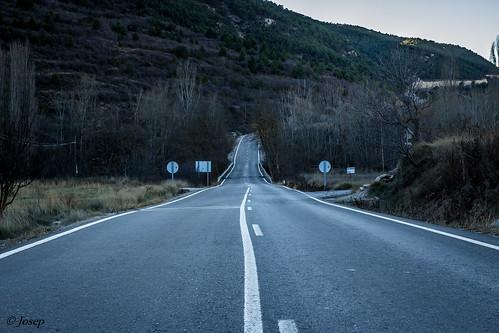 Carretera comarcal.