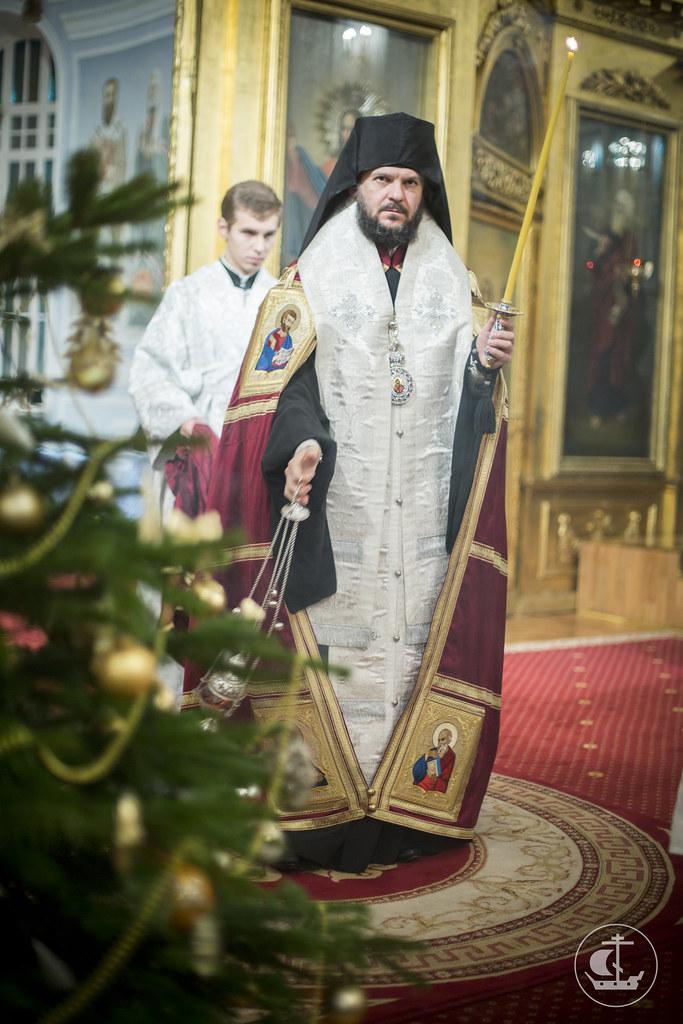 5/6 января 2014, Богослужение в Навечерие Рождества Христова