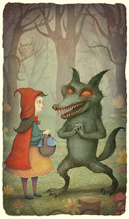 Little Red-Cap and the Wolf