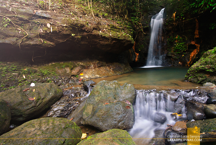 Kalikasan Waterfalls in Camp Peralta, Capiz