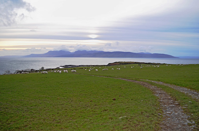 Inchmarnock and Arran, Island of Bute, Scotland