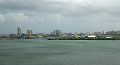San Juan - New City from Old Harbor
