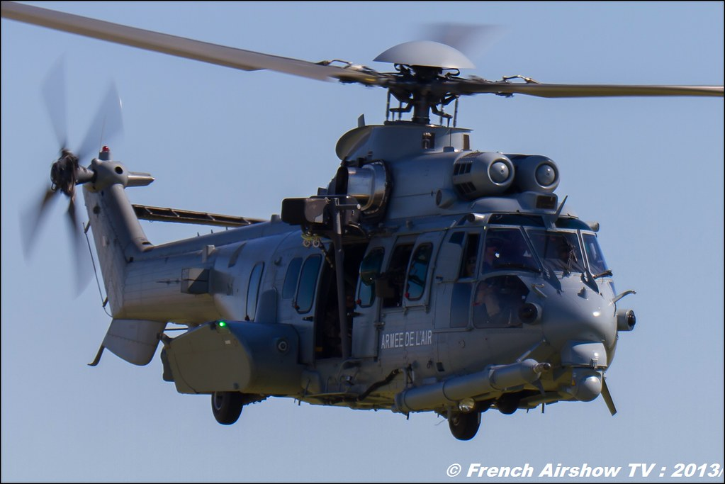 EC-725 Caracal 60 ans Patrouille de France , Meeting Aerien 2013