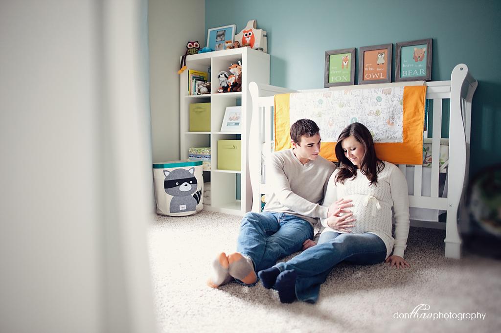 Novi, Michigan Maternity Photographer