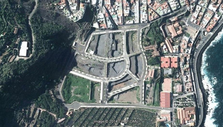 después, urbanismo, foto aérea,desastre, urbanístico, planeamiento, urbano, construcción,Garachico, Tenerife, Santa Cruz de Tenerife