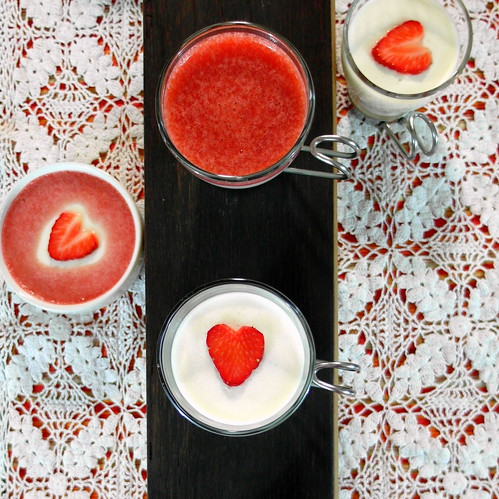 Caramelized Honey and Lavender Panna Cotta