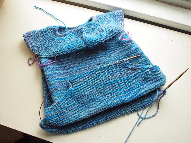 maddy-sweater in progress