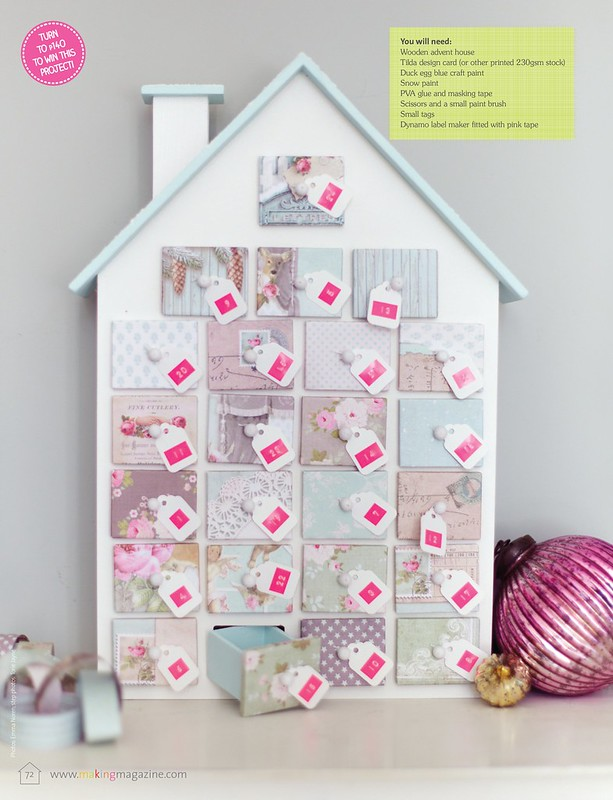 Advent House  as seen in Making Magazine