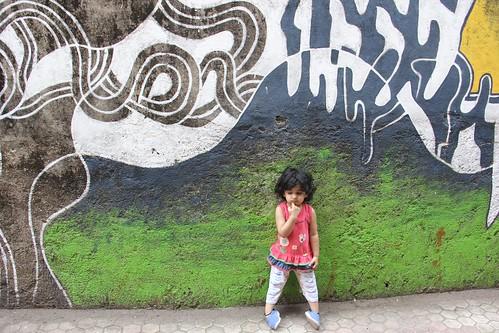 Nerjis Asif Shakir Street Photographer 2 Year Old by firoze shakir photographerno1