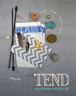 TEND magazine :: out now
