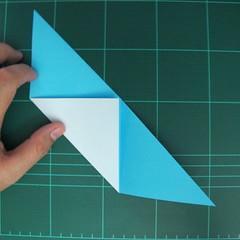 การพับกระดาษเป็นรูปตัวเม่นแคระ (Origami Hedgehog) 009