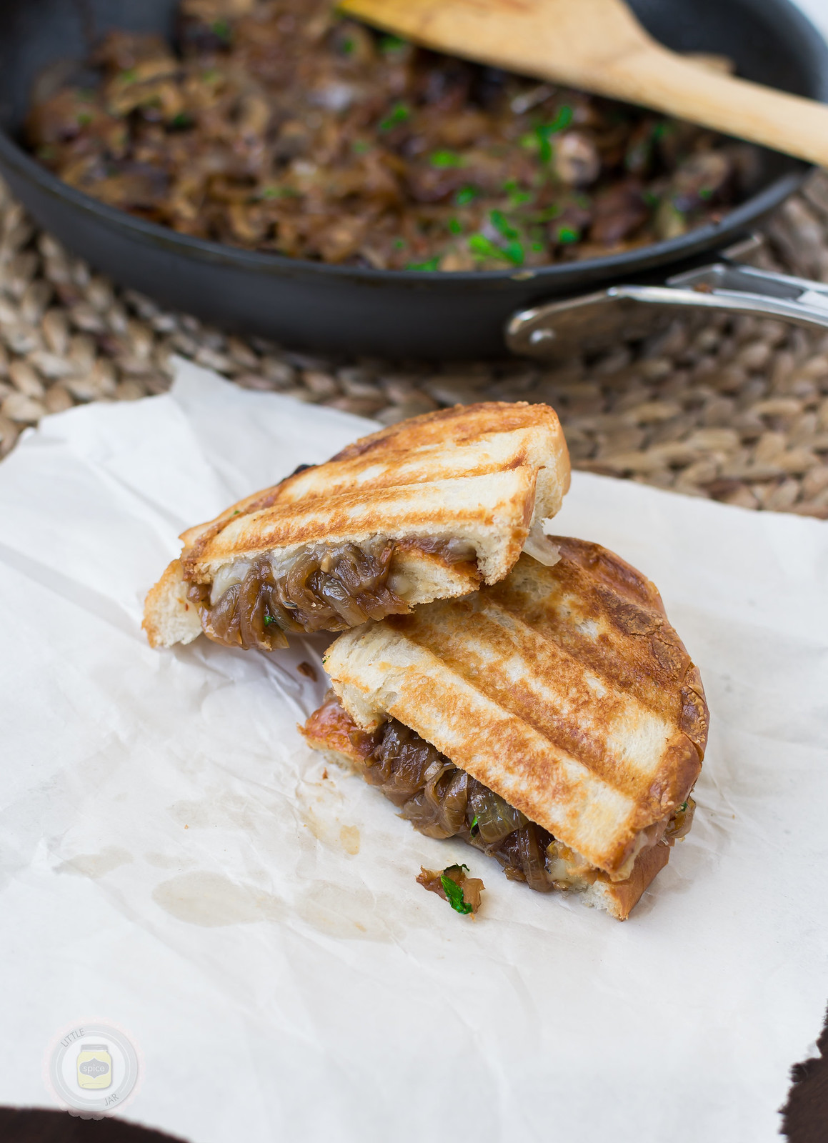 Caramelized Onion and Baby Bella Panini Melt Final 8