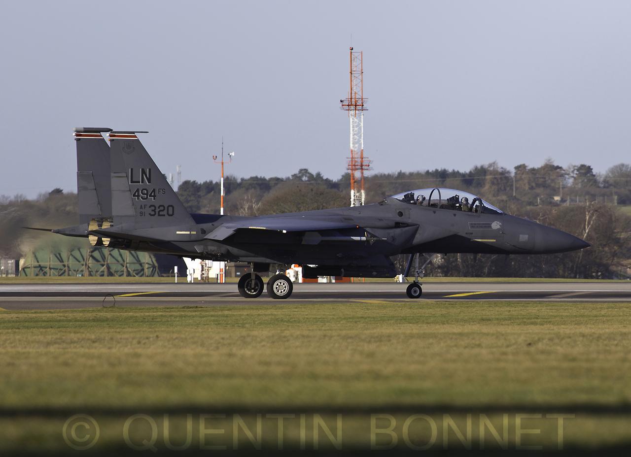 USAF McDonnell Douglas F-15E LN 91-320