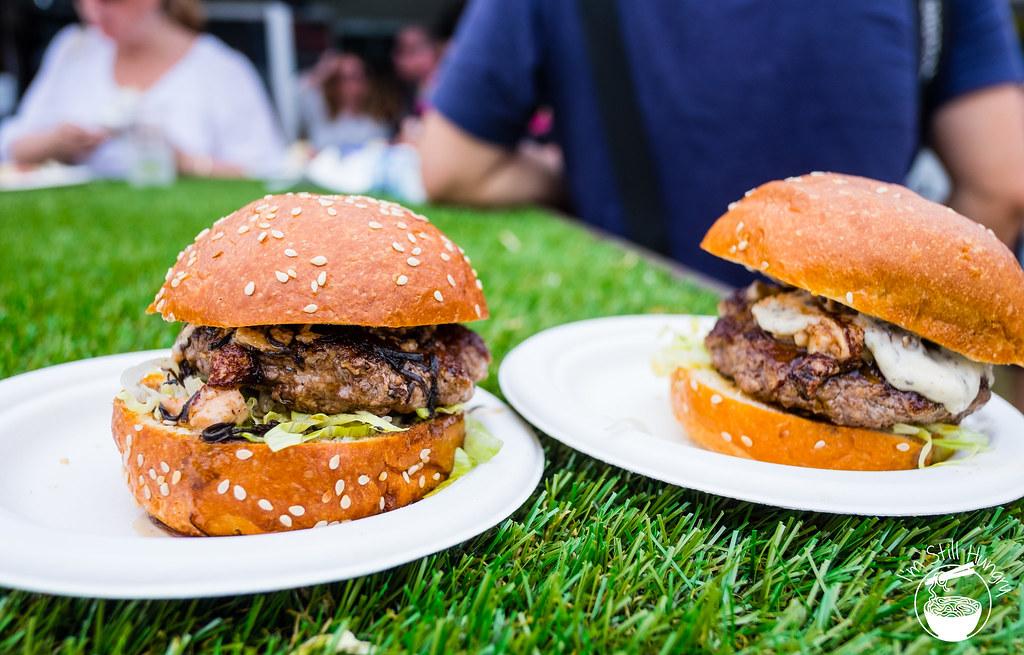 Taste of Sydney chur burger