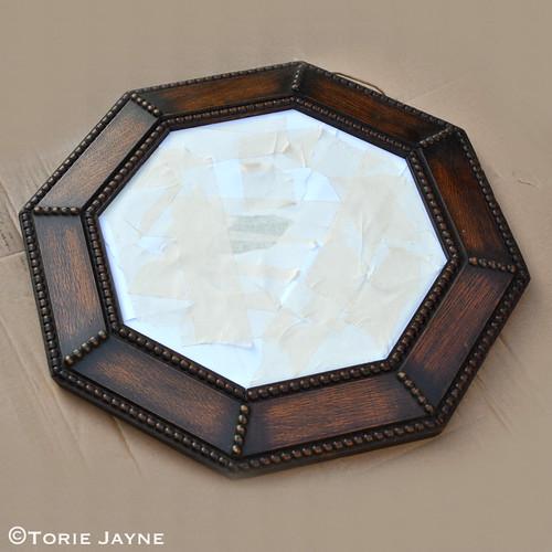 masking tape mirror