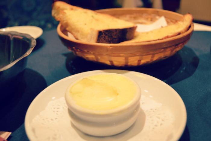 La Fiorentina garlic bread