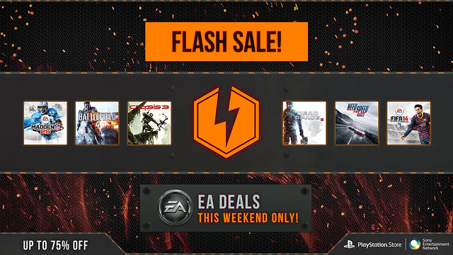 EA Flash Sale