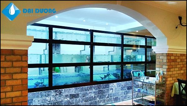 Hồ hải sản nhà hàng Vườn Thảo Điền-Q.2