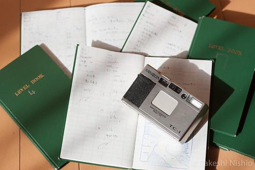 Minolta TC-1 & fieldnotes