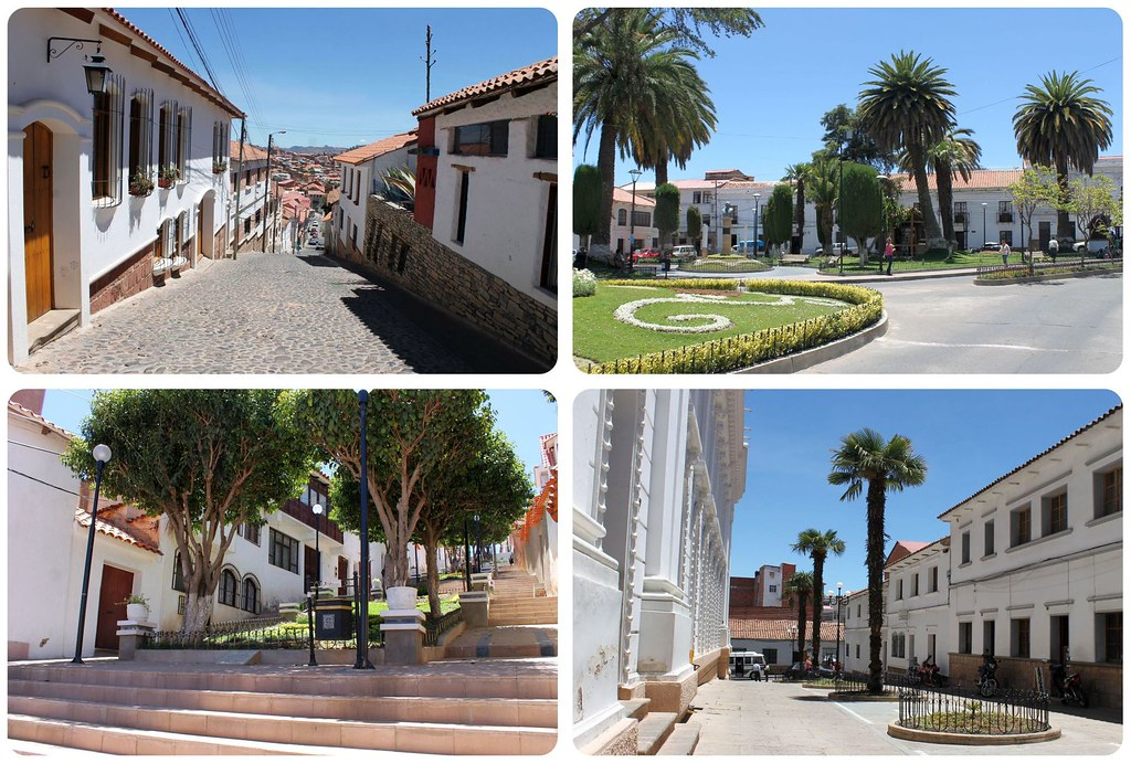 Sucre Bolivia The White City