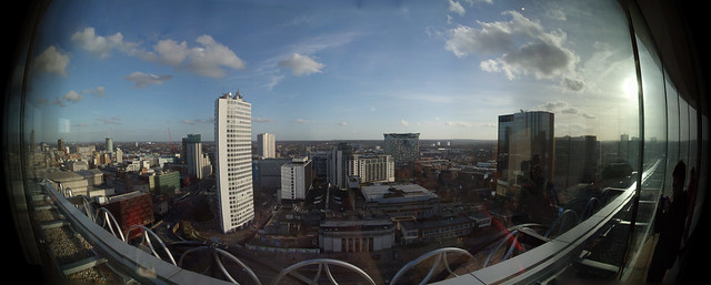Birmingham Library Top View