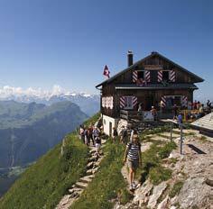 Malebné městečko Schwyz– muzeum ohistorii Švýcarska