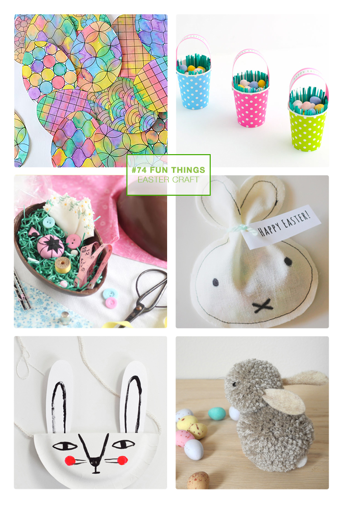 74 fun things // Easter craft