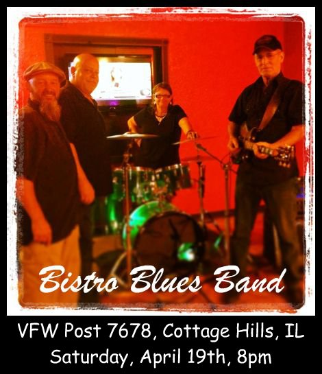 Bistro Blues Band 4-19-14