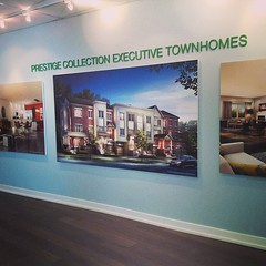 Sneak peek of our #Freehold towns at #Bloom today from noon until 6 PM at 7077 Bathurst Street! #LifeStoreys