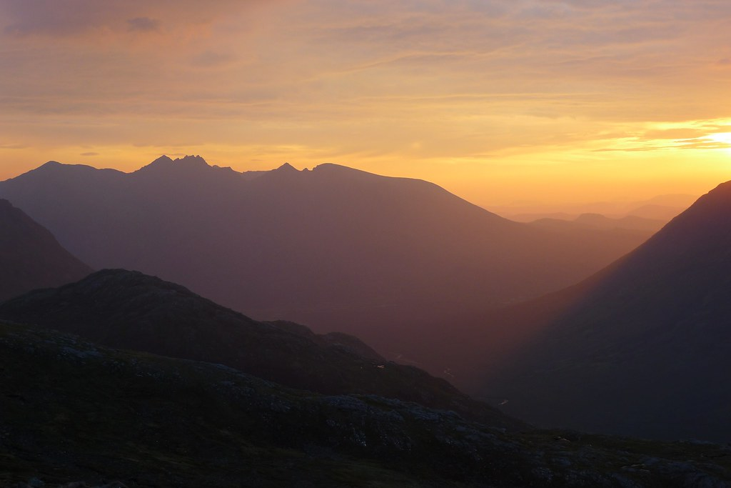 An Teallach at sunrise