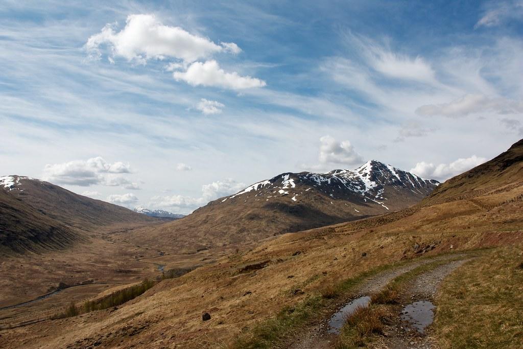 Upper Glen Lochay and Ben Challum