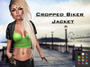 ~coepio~ Cropped Biker Jacket with Hud