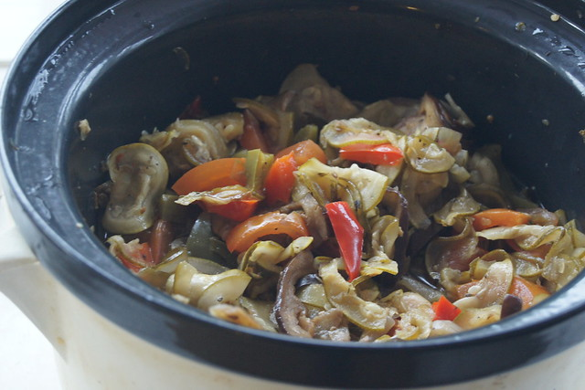Slow cooker ratatouille DSC05420