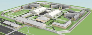 North Wales Prison Indicative Design