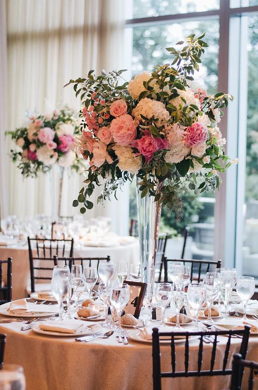 Peony, Hydrangea, and Garden Rose Wedding Flowers on juliettelaura.blogspot.com