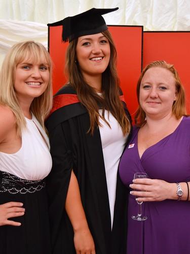 Caitlin Whytock, Kathryn Phillips and Gemma Burdge