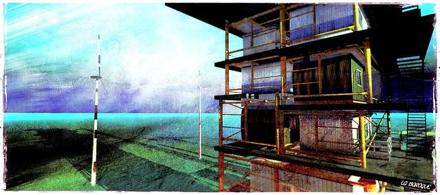 La Digue du Braek_The docks
