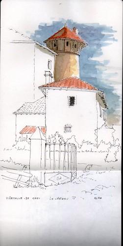 Villeneuve de Marc - Le château