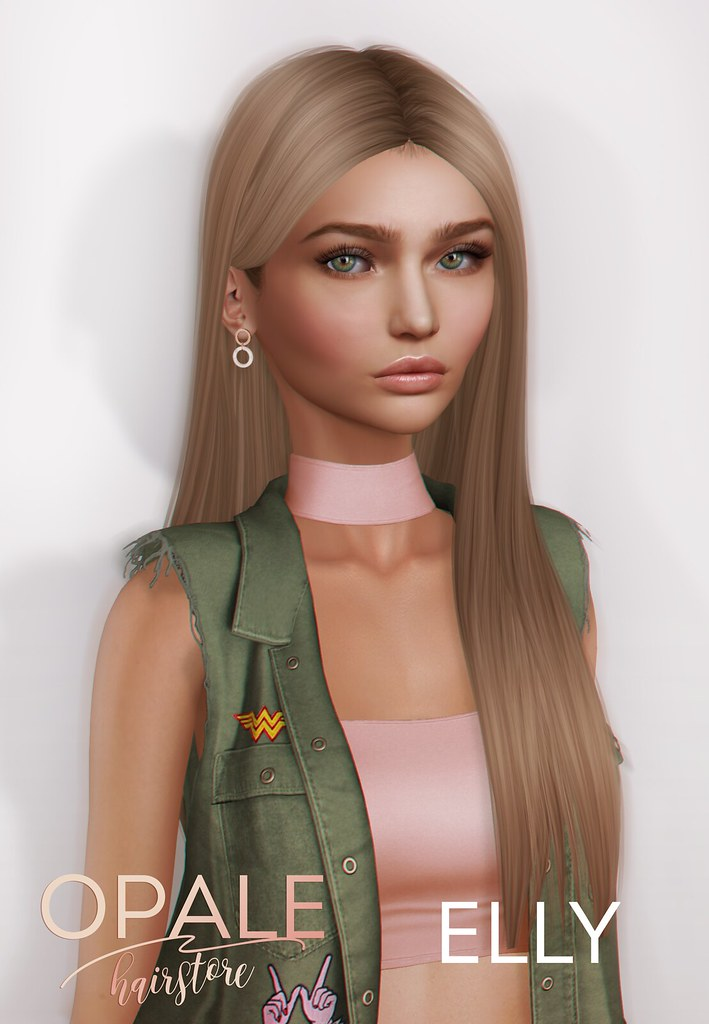 Opale Hair . Elly @ Tres Chic March 2017 - SecondLifeHub.com