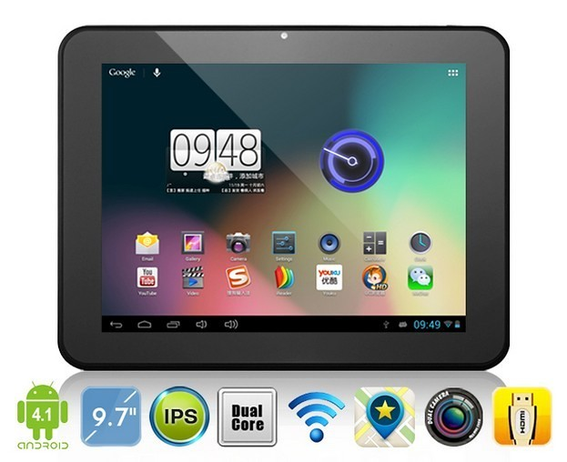 ICOO D90Pro Dual Core Tablet PC