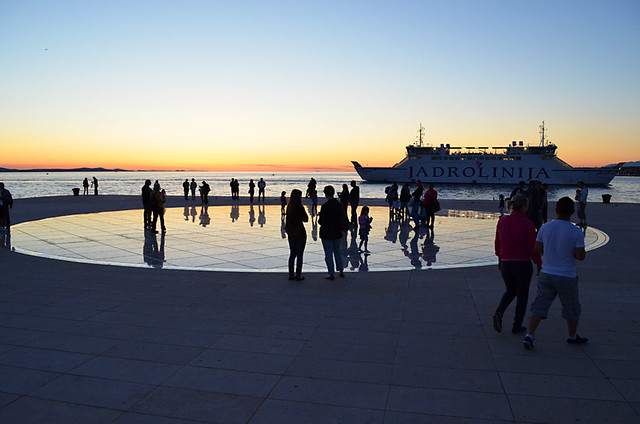 After Sunset in Zadar, Croatia
