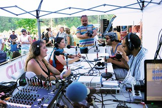 Live broadcast from Summer Arts and Music Festival, Benbow Lake