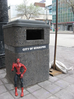 Spider-Man in Winnipeg